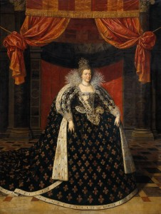 Marie de' Medici coronation portrait, by Frans Pourbus the Younger, 1610