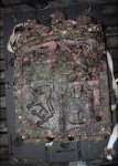 Coat of arms of the kingdoms of Leon and Castile, symbol of the Iberian Union, found on wreck site