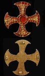 Anglo-Saxon cross, front and back