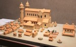 Another model of Messkirch monastery