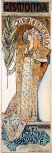 Gismonda by Alfons Mucha, 1894