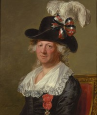 The Chevalier d&#039;Eon by Thomas Stewart, 1792