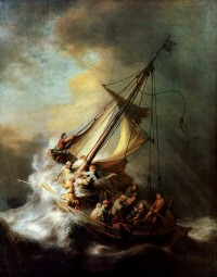 """The Storm on the Sea of Galilee"" by Rembrandt, 1633"