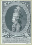 Print of the Chevalier d&#039;Eon