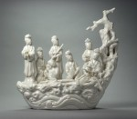 Dehua porcelain fairy boat, 17th century