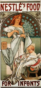 Nestlé's Food for Infants by Alfons Mucha, 1897