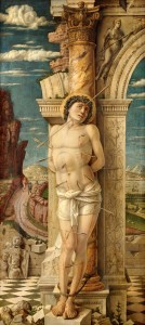 St. Sebastian by Andrea Mantegna, ca. 1470-1475