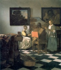 """The Concert"" by Vermeer, 1658-1660"