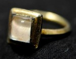 Ring found in abbot&#039;s grave at Furness