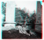 Anaglyph of France in the 1930s