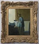 Neo-Rococo frame, ca. 1839