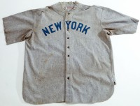 Babe Ruth Yankees jersey, 1920