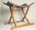 Folding chair from the Tomb of Kha, Deir el-Medina, Egypt, ca. 1400 B.C.