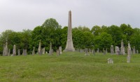 Fraterville Miners' Circle in Leach Cemetery