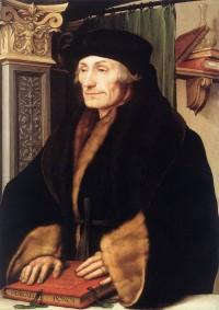 Desiderius Erasmus by Hans Holbein, 1523