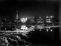 Kolkata lit at night for the 1911/1912 Royal visit