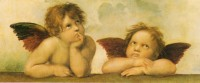 The cherubs, kitsch deities in their own right