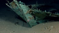 Copper sheathing from 19th c. shipwreck in the Gulf of Mexico