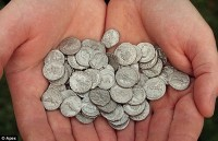 60 coins found in February