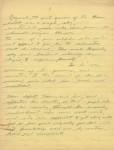 Chaplin manuscript, page two