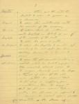 Chaplin manuscript, page three