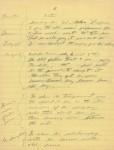 Chaplin manuscript, page four