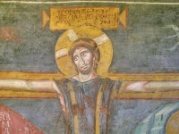 The Crucifixion after restoration