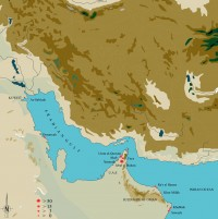 Persian Gulf archaeological pearl sites