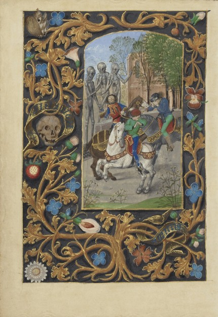 The Three Living and the Three Dead, ca. 1480-1485
