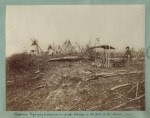 Chippewa Wigwams & Grave on one of the Islands in the Lake of the Woods, 1876