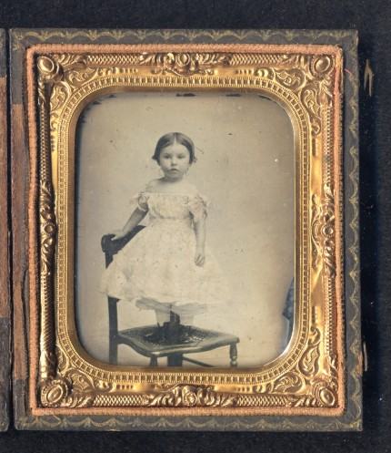 Unidentified child of a Union soldier