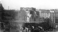 Demolition of Santa Maria Liberatrice, ca. 1900