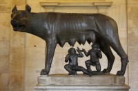 The Capitoline Wolf, she doesn't look a day over 1000