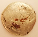 Worn Mark Antony coin, 32 A.D.