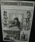 Scientific American cover featuring Edison's Talking Doll, April 26, 1890