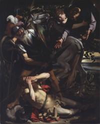 """""""The Conversion of Saul"""" by Caravaggio, ca. 1600"""