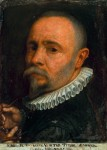 Self-portrait of Simone Peterzano, 1589