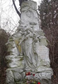 Strauss' grave, Viennese Central Cemetery