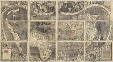 Waldseemller America&#039;s birth certificate map, 1507