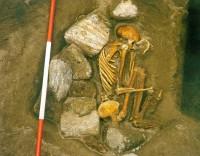 Female Cladh Hallan bog mummy