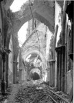 Cathedral of St. John the Baptist after the siege, 1945