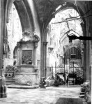 Cathedral of St. John the Baptist aisle after the siege