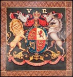 Queen Victoria&#039;s Royal Arms at Holy Trinity Church, Blackburn, 1837