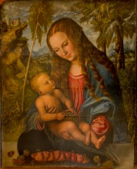 """Madonna under the Fir Tree"" by Lucas Cranach, ca. 1510"