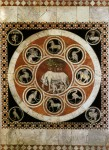 The Sienese She-Wolf and Emblems of Allied Cities