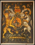 Charles II&#039;s Royal Arms at St Mary&#039;s Church Sandwich, 1660