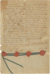 Treaty of Alliance, last page with signatures and seals