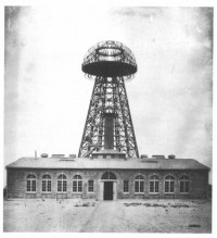 Wardenclyffe lab and tower