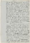 Frankenstein manuscript page