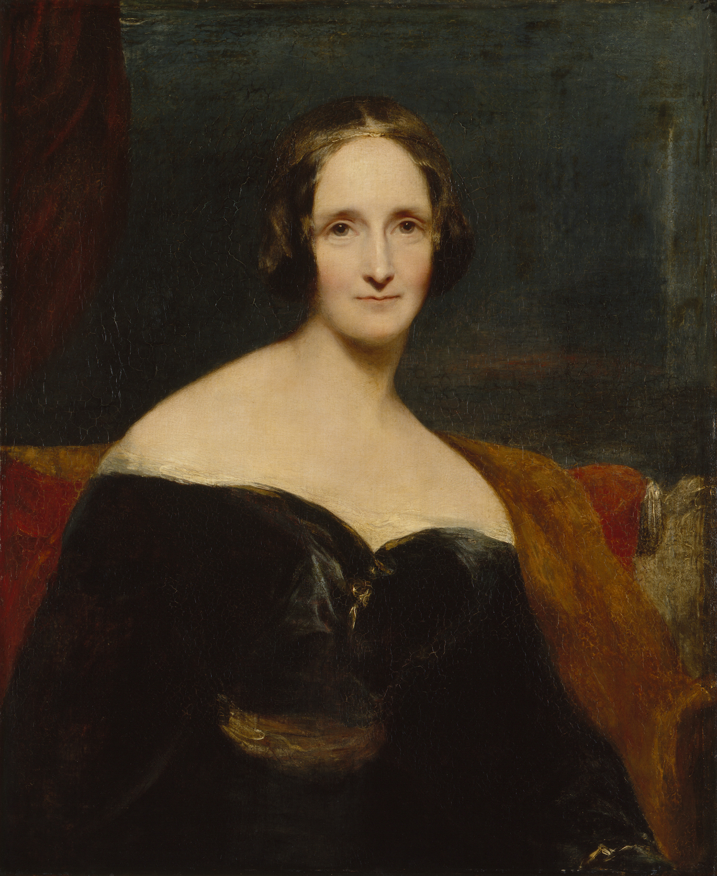 Percy bysshe shelley quotes quotesgram - Mary Wollstonecraft Shelley By Richard Rothwell 1840